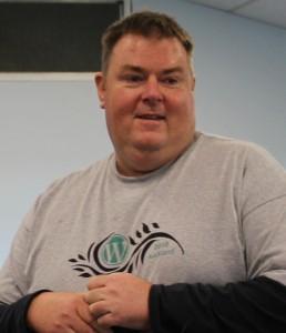 Jason at #wordcampnz 2010 taken by @anitsirk