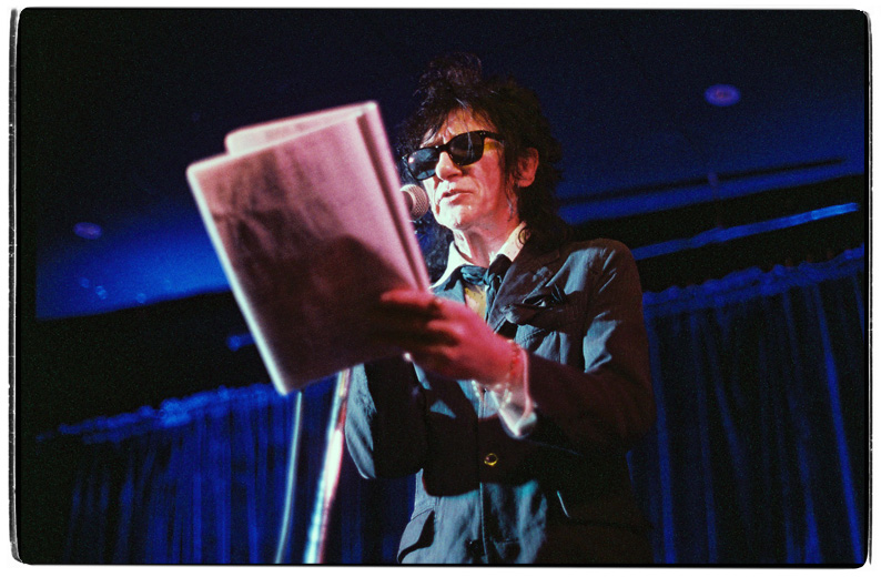 John Cooper Clarke at the Kings Arms, Auckland, March 22 2012