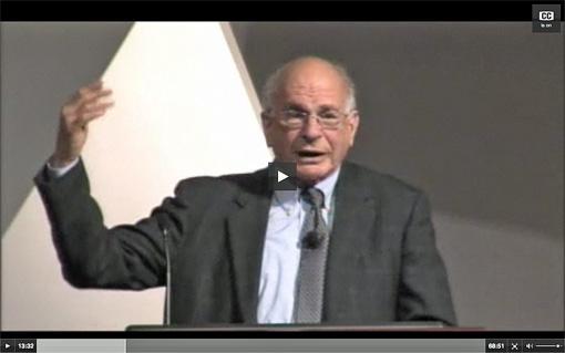 Daniel Kahneman - video