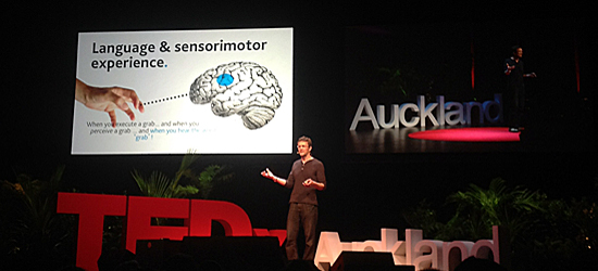 linguist and cognitive scientist - Alastair Knott