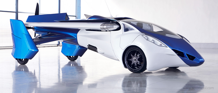 A flying car? Aero mobil